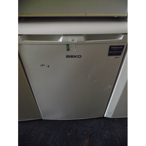 38 - Beko freezer...