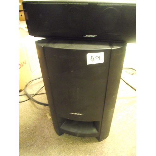 49 - Very expensive Bose Cinemate 15 digital sound system with remote control.....