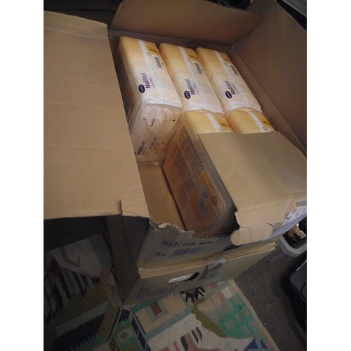 55 - one full box + another milipads....
