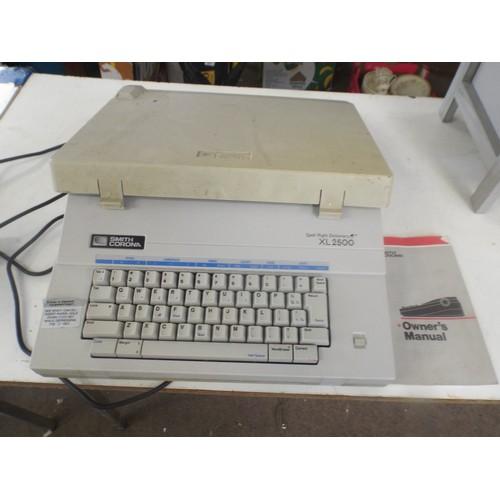 11 - XL 2500 Smith corona typewriter....