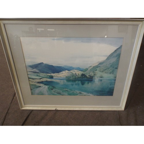 37 - Framed Print by W Heaton cooper...