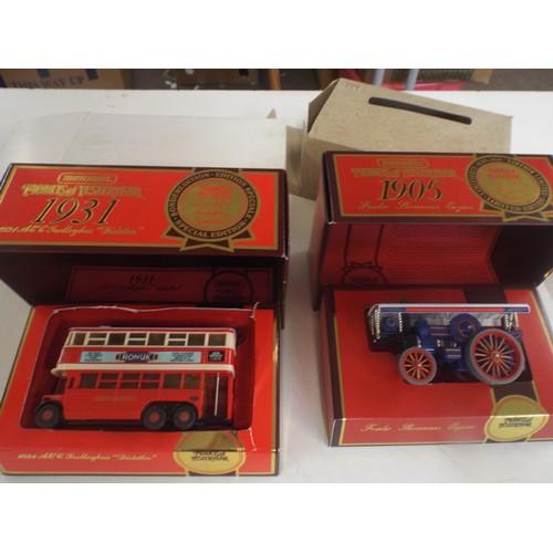52 - 2 boxed matchbox models...