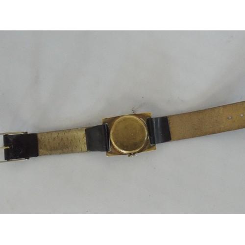10 - Vintage Omega ladies watch stamped 18 carat prix 21 , 1930s, gross weight 19.27 gram...