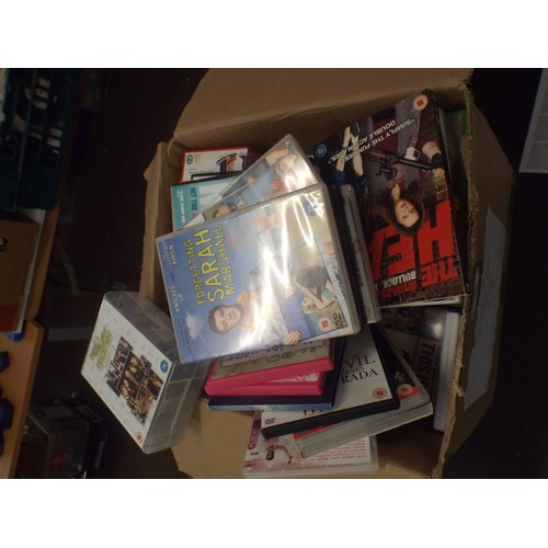 38 - Box of good title DVD's....