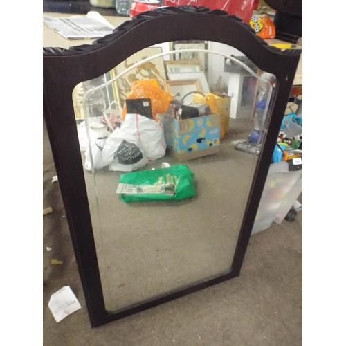 43 - Large vintage mirror....