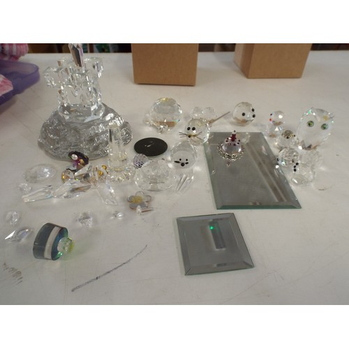 33 - Various Swarovski and other crystal spares repairs....