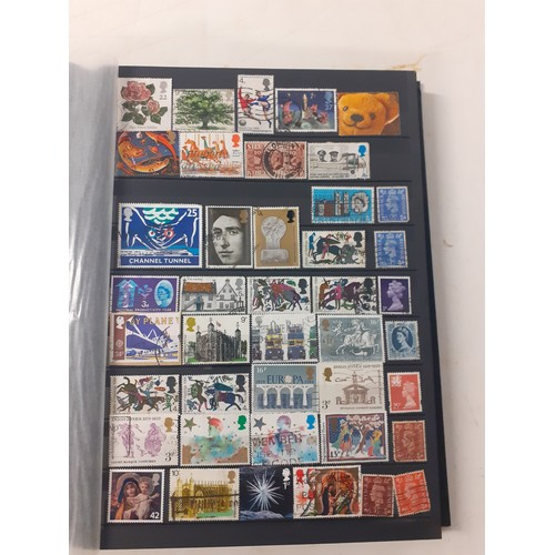27 - Exceptional stamp album of 18 full pages of assorted stamps. including very unusual issues from arou...