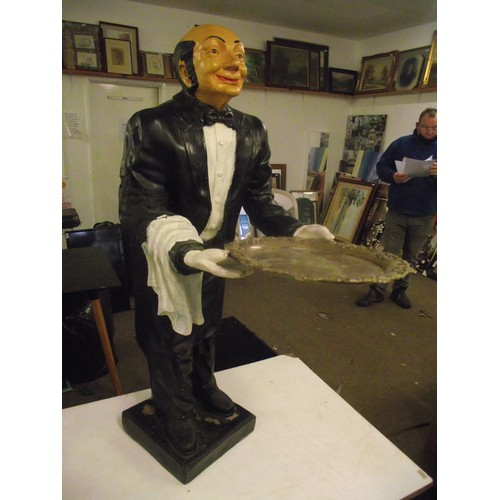 702 - Large fibreglass Butler arm been repaired. Approx 38 inches....