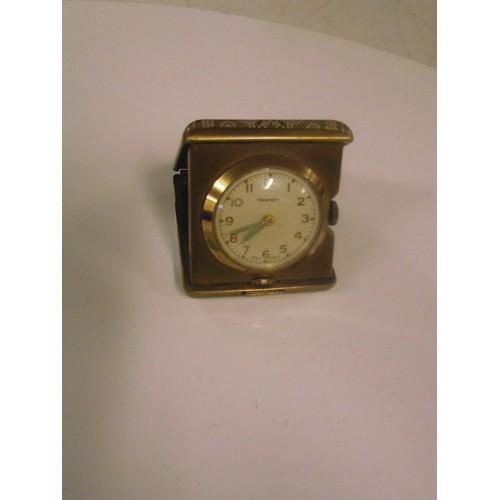 72 - Newmark minature folding travel clock