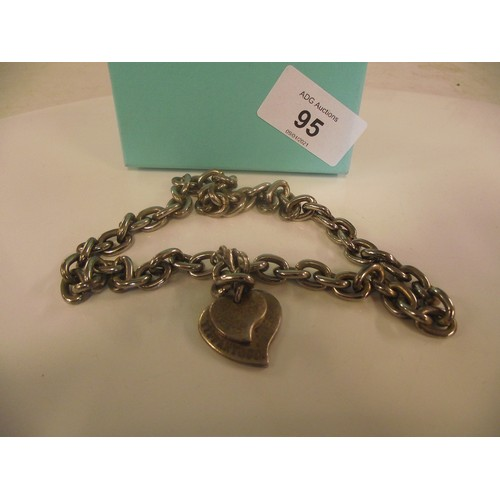 95 - Stamped - Tiffany and co necklace