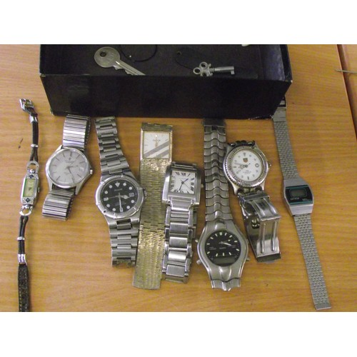 220 - Selection of various watches etc....