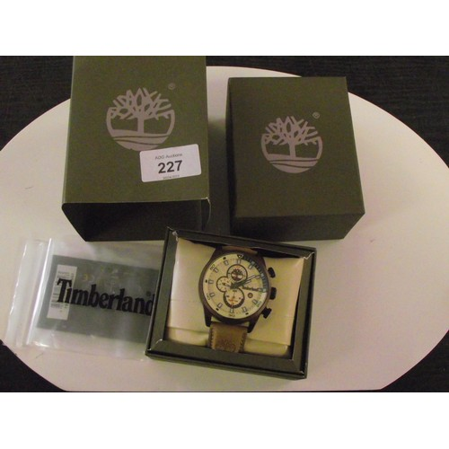 227 - Boxes timberland working watch
