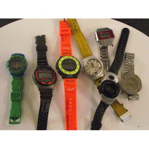 234 - Assorted working digital watches ect
