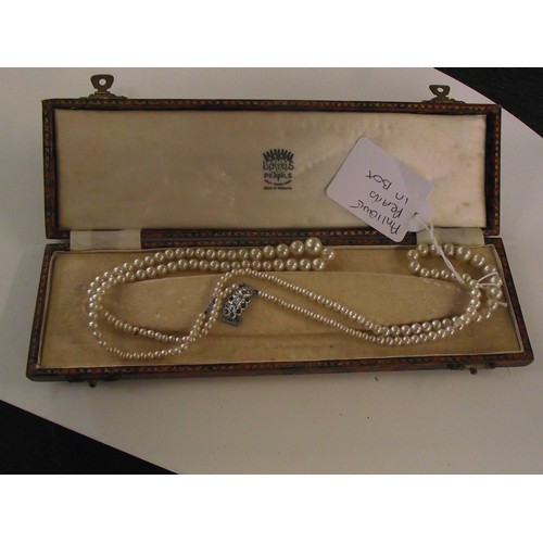 251 - Boxed set of antique pearls