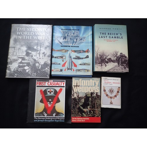 291g - Selection of various low print run  WW2 Military Mainly Hitler, Third Reich, German, weapons etc boo...