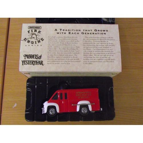 363 - boxed matchbox fire engine