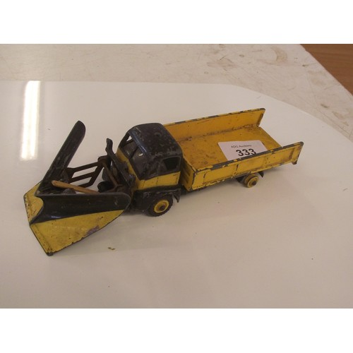 333 - Dinky super toy snow plough