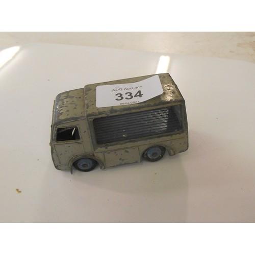 334 - Dinky electric van