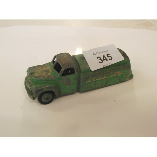 345 - Dinky green oil lorry