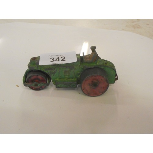 342 - Dinky steam roller