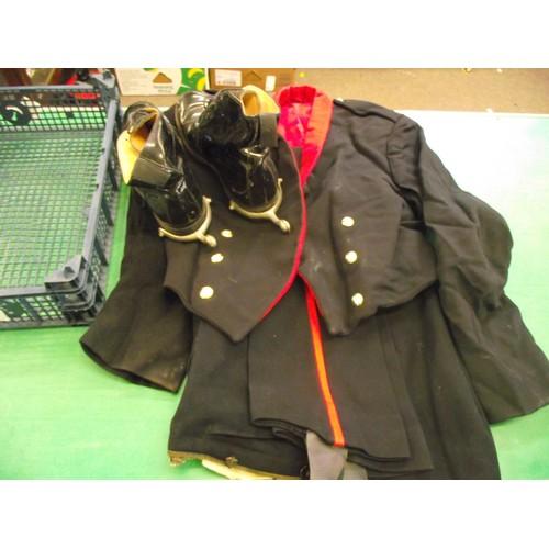398 - Royal Artillery Dress Uniform with Boots & Spurs.
