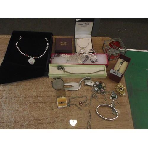 471 - Various jewellrey ect