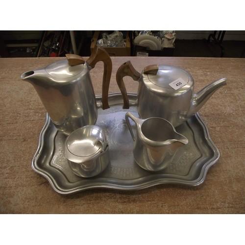 450 - Retro Picquot tea/coffee set.