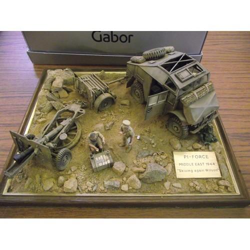 452 - Nice quality diorama of