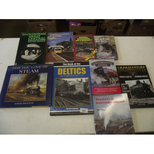 454 - Railway British Rail Deltics & Steam engine Books one for the enthusiasts.