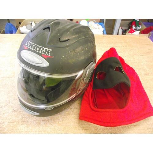 8 - Shark bike helmet with skin s600 air...