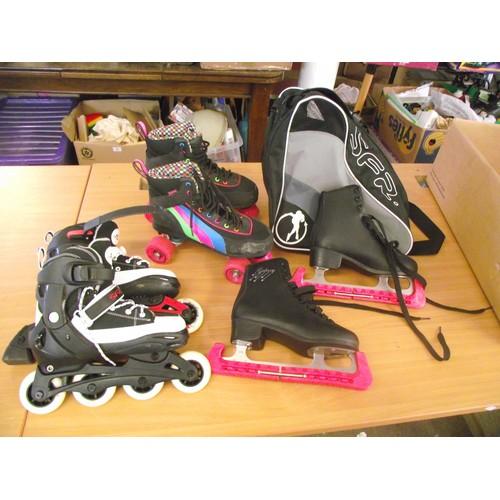 54 - Various Skates sizes vary 6-7....