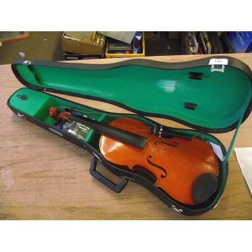 61 - Cased Chinese violin....