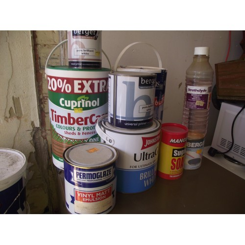 65 - Various new and used paints etc....