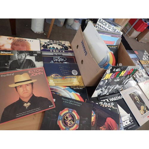 413 - Super Collection of Good title Vinyl LP's from 1970's - 80's & other Inc Rock, Metal, Pop etc inc Bo...