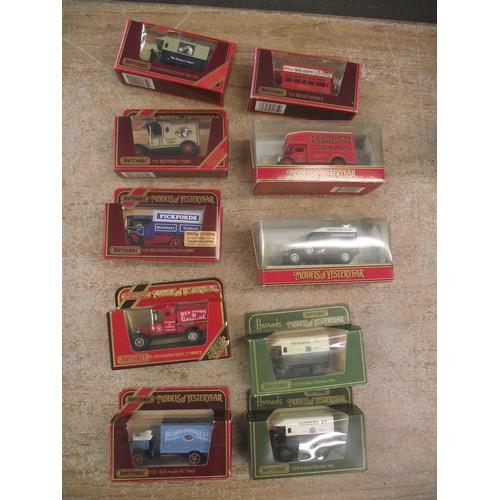 90 - 10 coillectors boxed matchbox cars