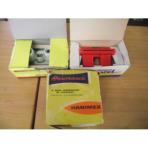 591 - 2 vintage 3D Veiwmaster veiwers etc.