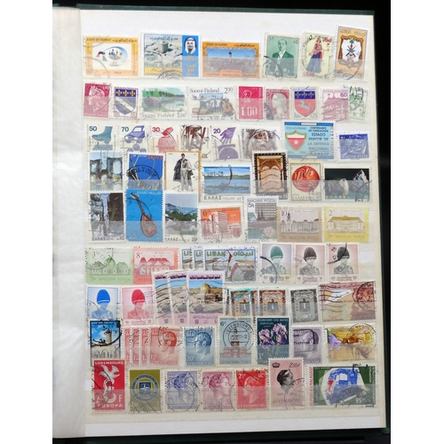 22 - All world mainly used selection with some duplication in 8 page stock book, much Europe seen*...