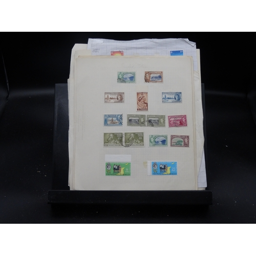 27 - Commonwealth on pages mint & used we note Caymans, 1948 S. Wedding low values mint, Malta P.Due set ...