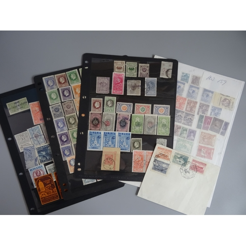 32 - Selection of Romania Fiscals including pre 1900 plus stamps from Russia with better and Yugoslavian ...
