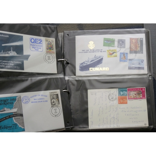 43 - Large blue cover album with better including 1969 Concorde cancelled Filton, Bristol plus many other...