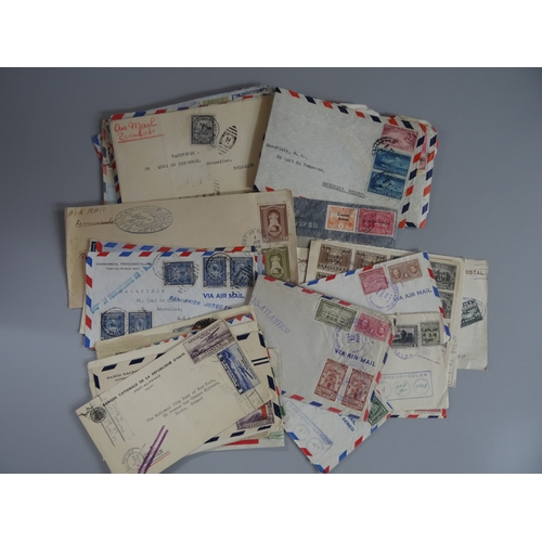 46 - Selection of Airmails from Central America covering 1920s-50s including Guatemala, Haiti, Panama etc...