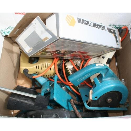 18 - Box of various Black & Decker tools...