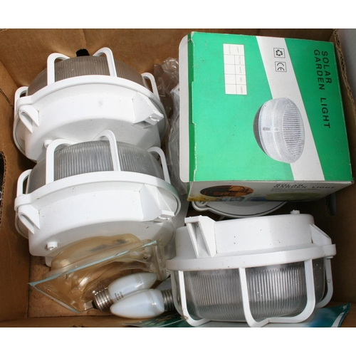 26 - Selection of exterior lights...