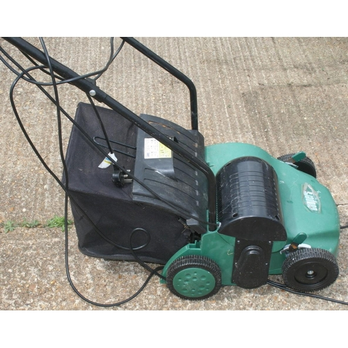 11 - A Coopers Combo Lawn Raker and Scarifier. Manual in office...
