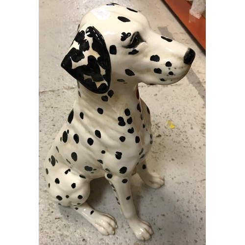 21 - A Beswick Dalmatian fireside figure with impressed No. ''2271'', approx 34.5 cm high, together with ...