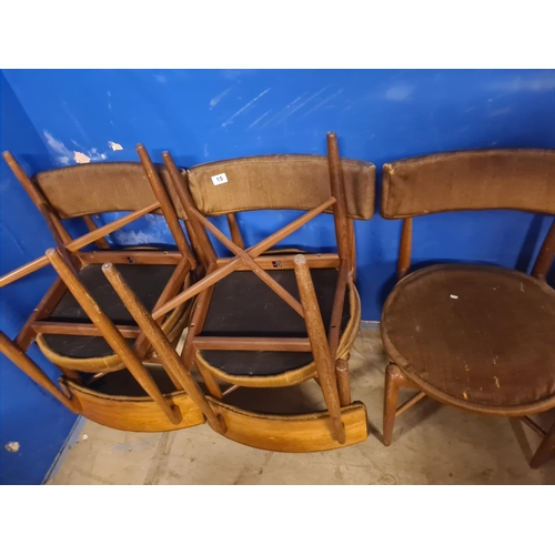 15 - Set of 6 G Plan Dining Chairs by Kofod Larsen...
