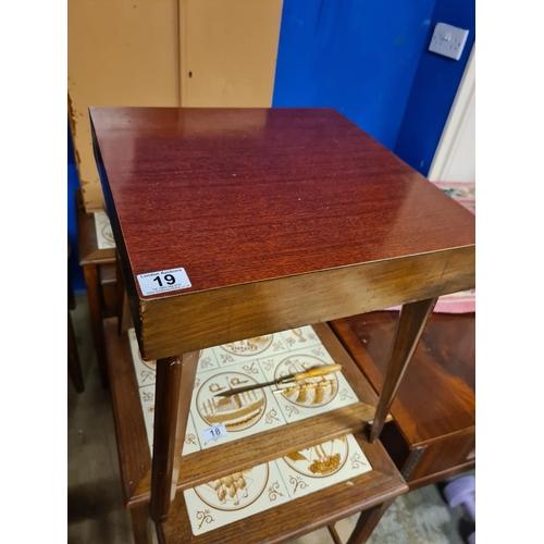 19 - Vintage Side Table...