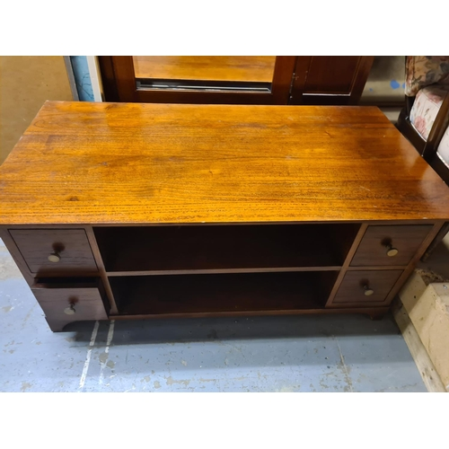 7 - John Lewis Solid Wood Living Room Table/TV Stand...