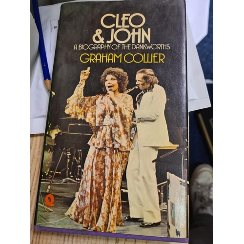 7 - Cleo and John A Biography of the Dankworths along with a Signed Letter from Cleo and John...