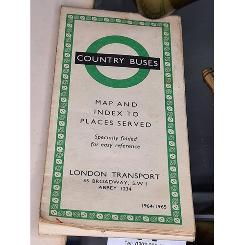 17 - 1960s Country Bus Maps...